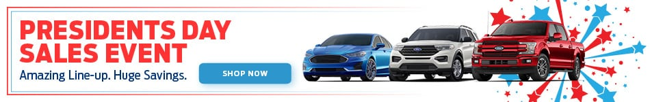Ford President's Day Sales Event