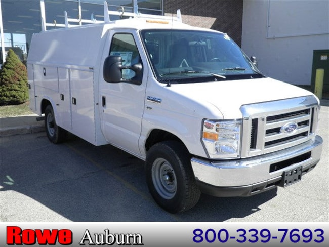 2018 Ford E-350 SRW Cutaway Service Utility Van For Sale in Westbrook, ME