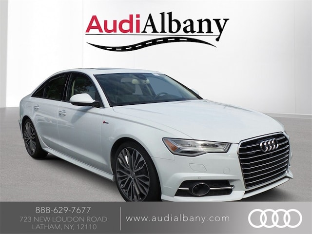 Pre-Owned 2016 Audi A6 3.0T Premium Plus for sale in Latham, NY