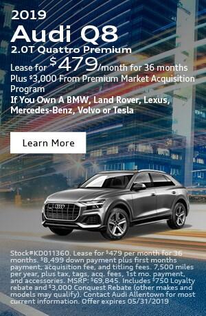 2019 Audi Q8 Conquest Lease