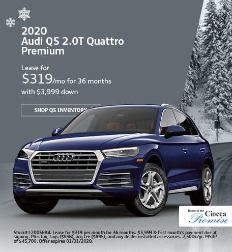 January 2020 Audi Q5 2.0T Quattro Premium