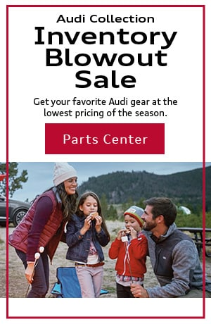 Audi Collection Inventory Blowout Sale