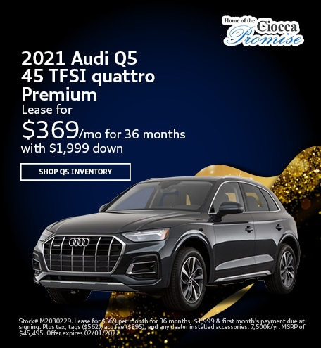 2021 Audi Q5 45 TFSI quattro Premium