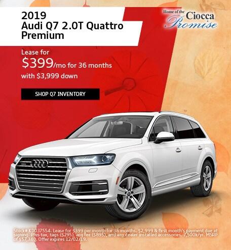 November 2019 Audi Q7 2.0T Quattro Premium
