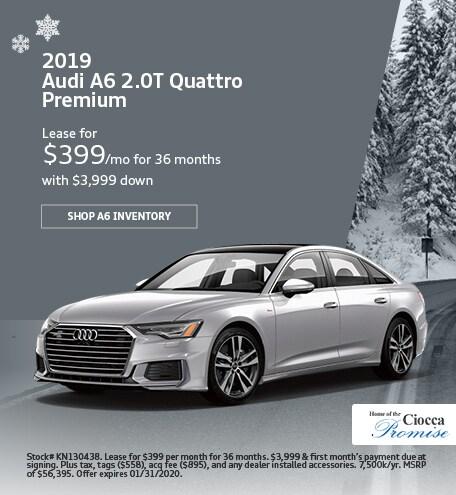 January 2019 Audi A6 2.0T Quattro Premium