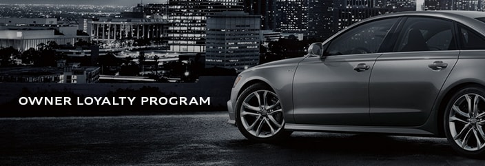Audi Owner Loyalty Program Audi New Owner Acquisition Program - Audi loyalty
