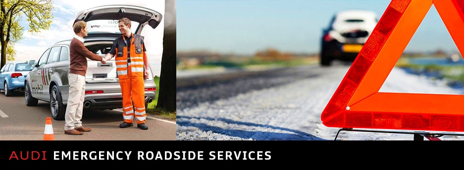 Audi Emergency Roadside Services Audi Roadside Assistance Overview - Audi roadside assistance