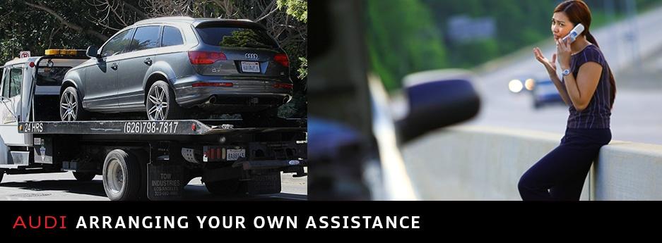 Arranging Your Own Roadside Assistance Audi Ann Arbor - Audi roadside service