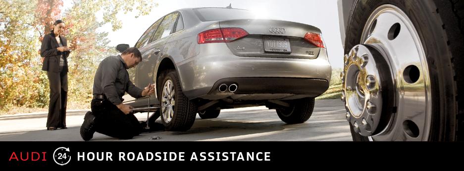 Audi Hour Roadside Assistance Overview Audi Emergency Roadside - Audi roadside assistance