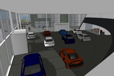 9 Car Showroom
