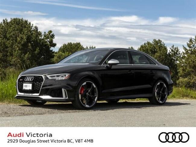 2018 Audi RS 3 2.5T Quattro 7sp S Tronic Sedan