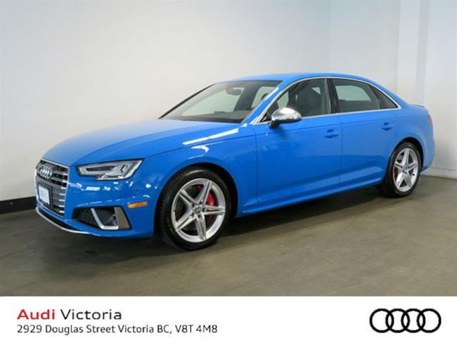 2019 Audi S4 3.0T Progressiv Quattro 8sp Tiptronic Sedan