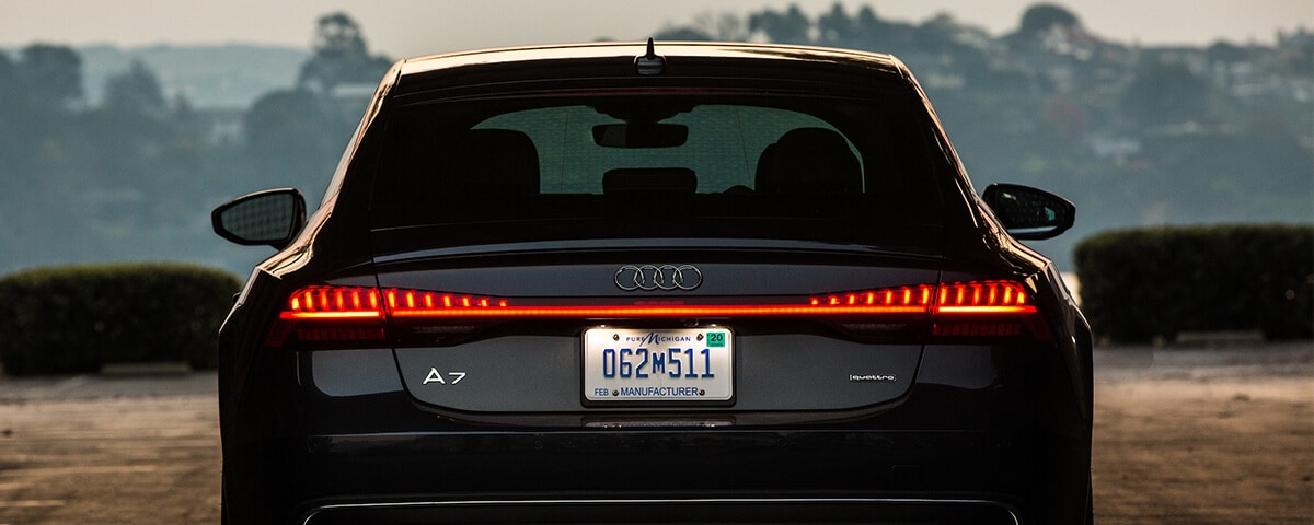 Audi rear LED tailights