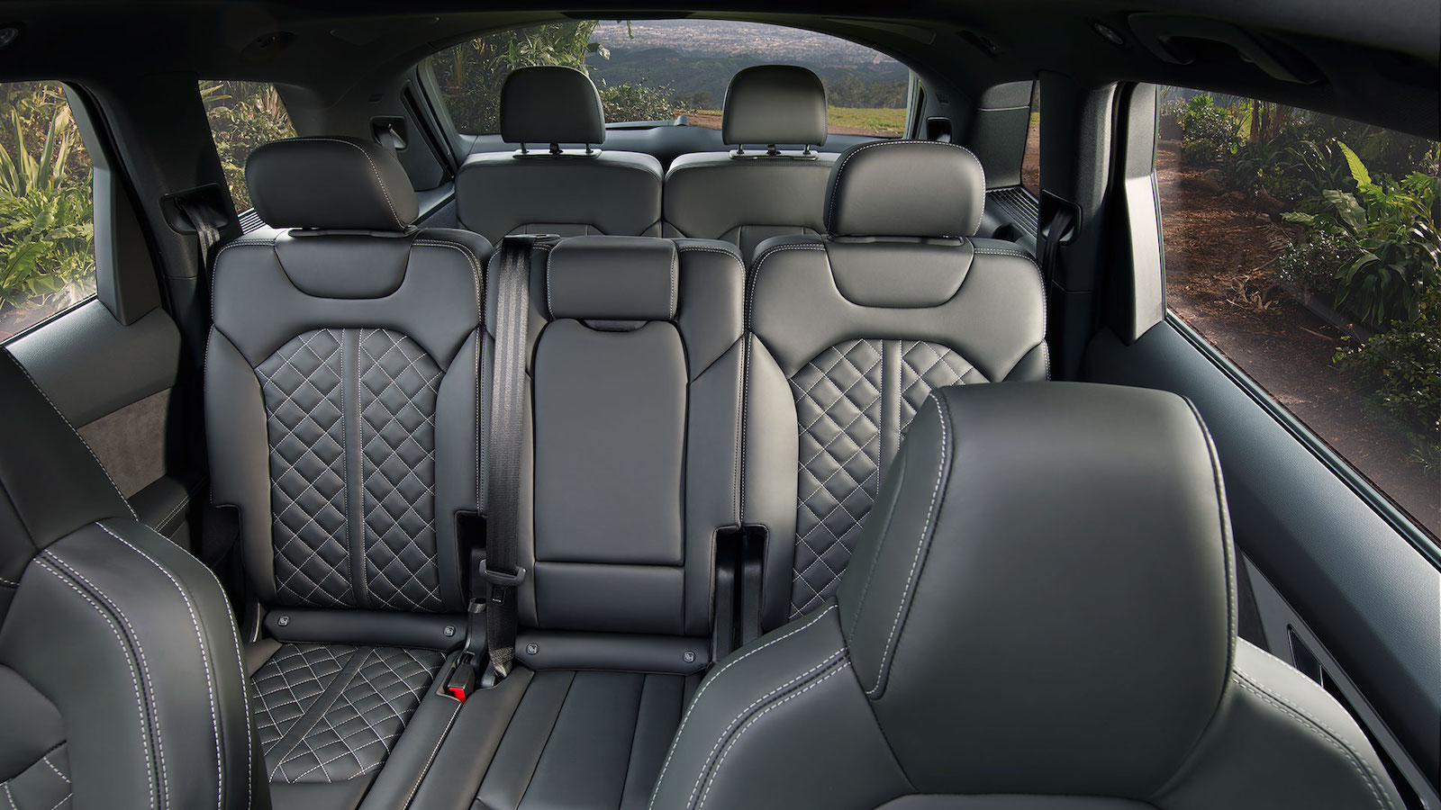 3rd-Row Seating in the Audi Q7