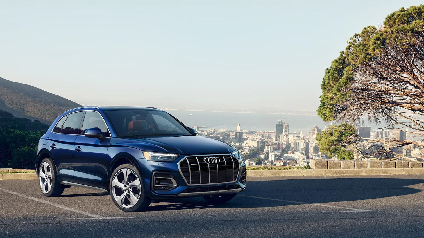 2021 Audi Q5 Prestige in Navarra Blue metallic