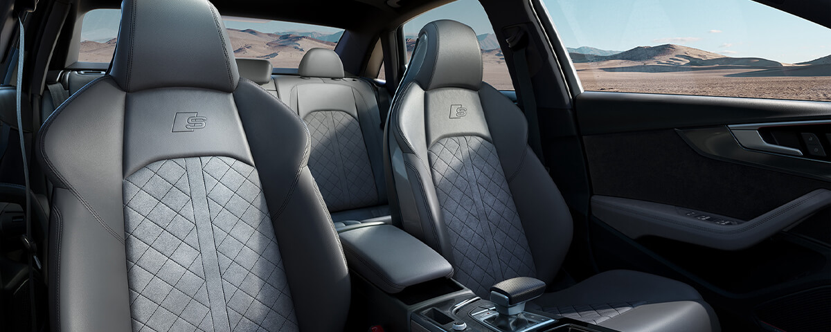 Audi heated and ventilated seats