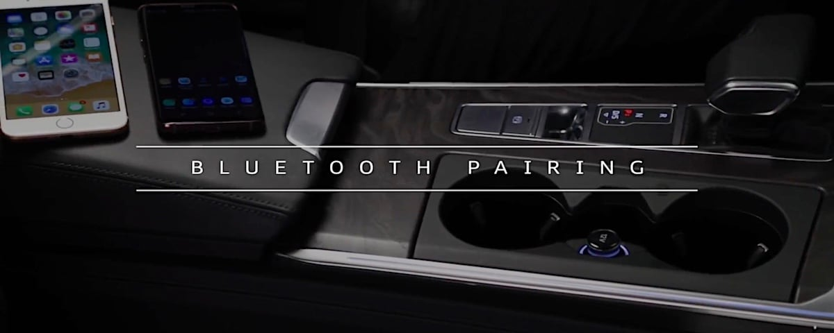 Audi Bluetooth pairing graphic