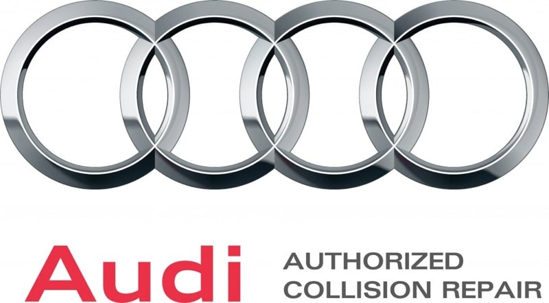 Audi Authorized Collision Repair logo