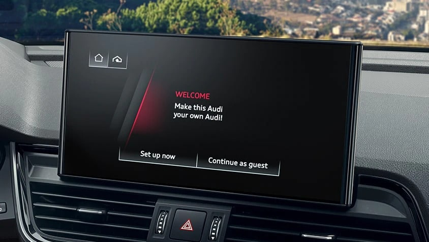 2021 Audi Q5 MMI touch screen