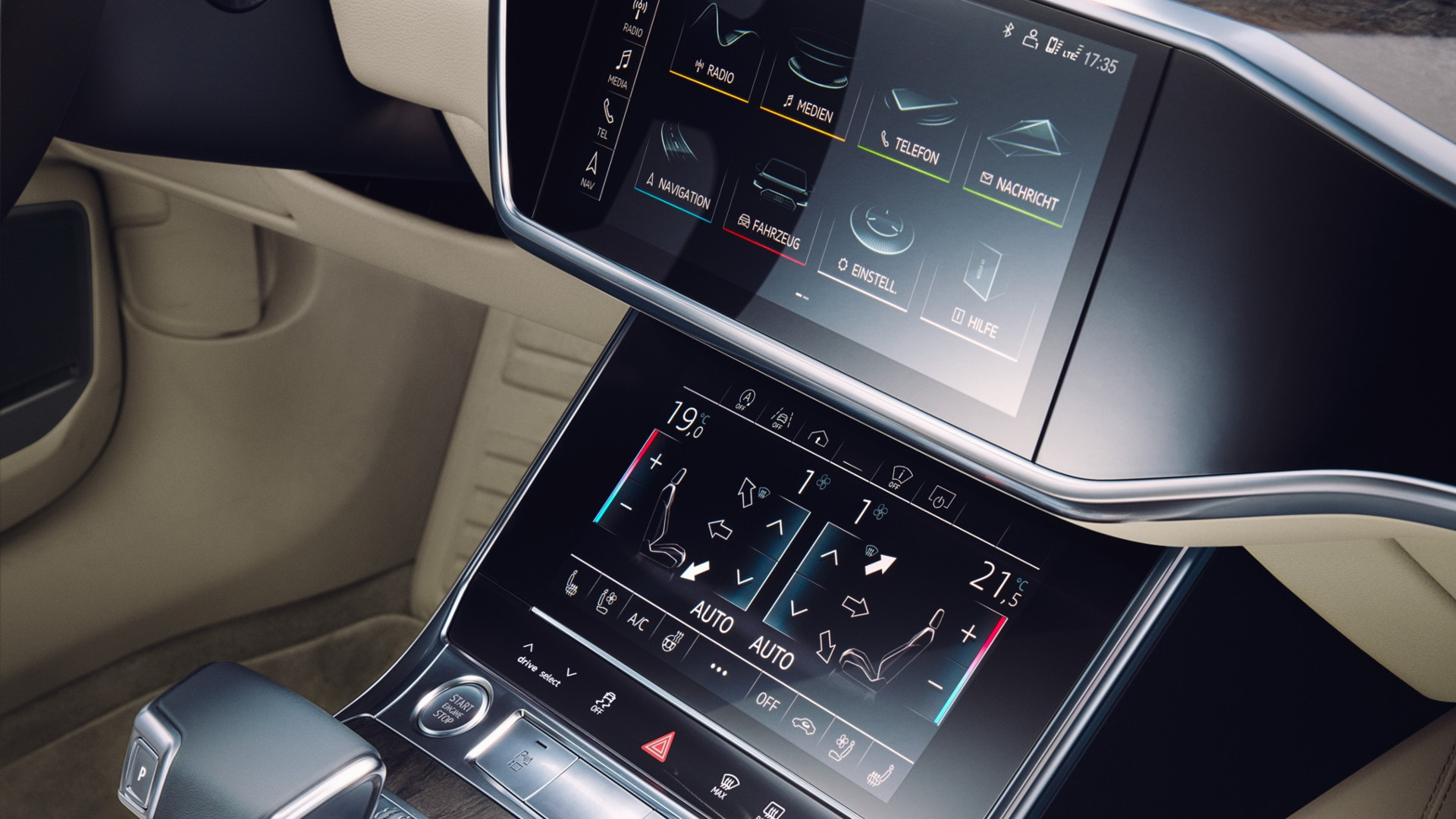 Audi MMI touchscreen