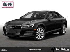 2018 Audi A4 2.0T Tech ultra Premium Sedan