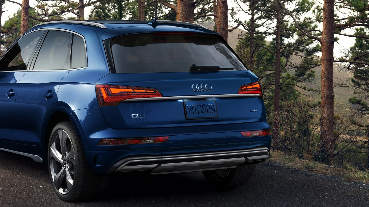 2021 Audi Q5 Prestige rear view
