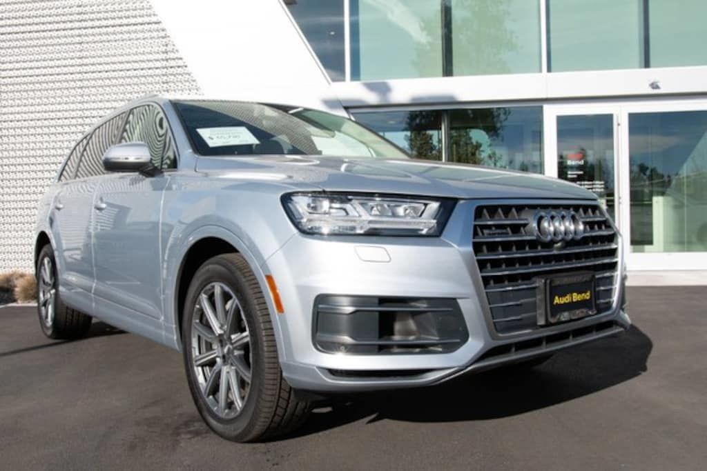 New 2019 Audi Q7 For Sale In Bend Or Vin Wa1laaf77kd014147