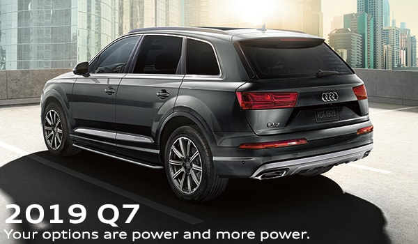 2019 Audi Q7 lease deals at Audi Boise dealership