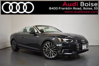New 2019 Audi A5 2.0T Premium Plus Cabriolet for sale in Boise at Audi Boise