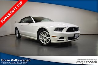 Used 2013 Ford Mustang V6 Convertible 1ZVBP8EM5D5234462 for sale in Boise at Audi Boise
