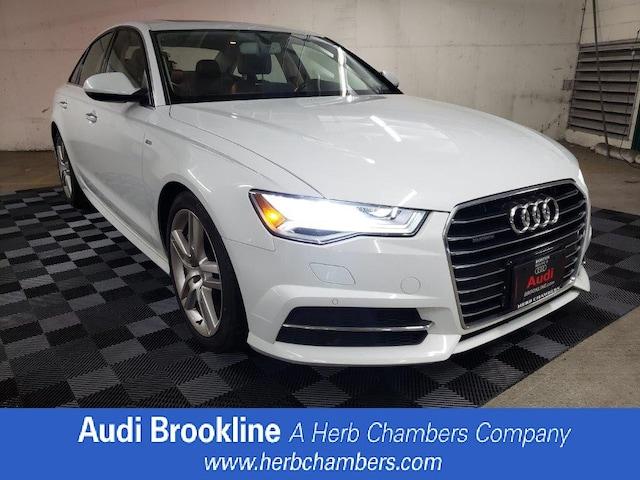 Certified Inventory 2016 Audi A6 2.0T Premium Plus Sedan Brookline MA