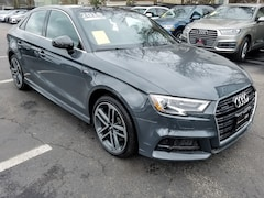 Certified Inventory 2018 Audi A3 Premium Plus Sedan Brookline MA