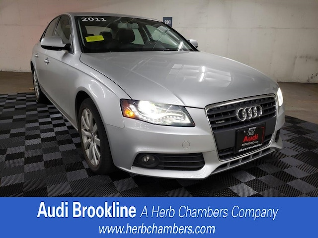 Used 2011 Audi A4 2.0T Premium  Plus Sedan Brookline