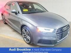 Certified Inventory 2018 Audi A3 Premium Plus Sedan Brookline MA