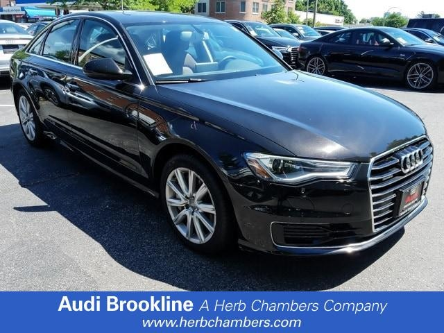 Used 2016 Audi A6 2.0T Premium Plus Sedan Brookline