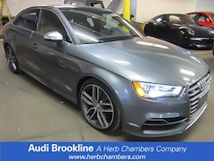 Certified Inventory 2015 Audi A3 S3 2.0T Premium Plus Sedan Brookline MA
