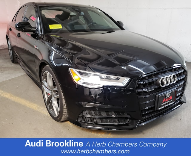 Used 2017 Audi A6 Competition Prestige Sedan Brookline