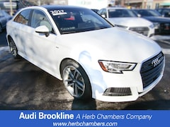 Certified Inventory 2017 Audi A3 Premium Plus Sedan Brookline MA
