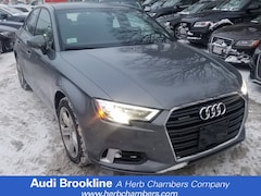Certified Inventory 2017 Audi A3 Premium Sedan Brookline MA