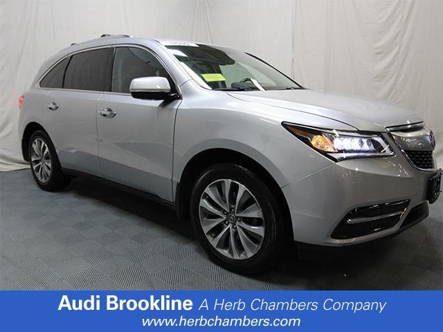 Used 2015 Acura MDX Tech Pkg SUV Brookline