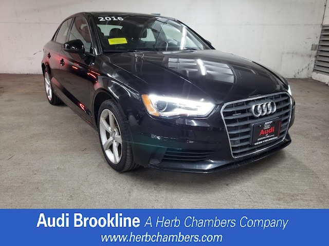 Used 2016 Audi A3 2.0T Premium Sedan Brookline