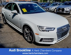 Certified Inventory 2018 Audi A4 Premium Plus Sedan Brookline MA