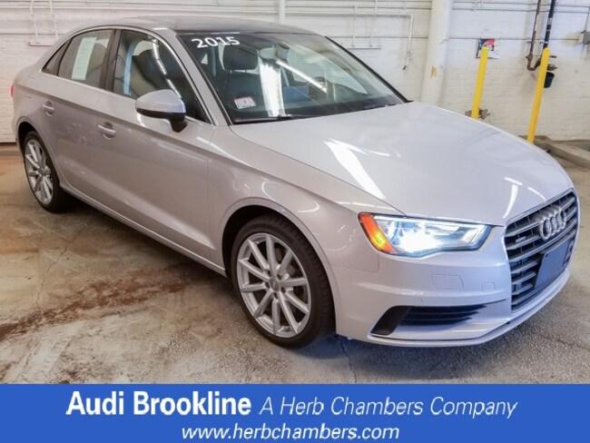 Used 2015 Audi A3 2.0T Premium Plus Sedan for sale in Boston, MA