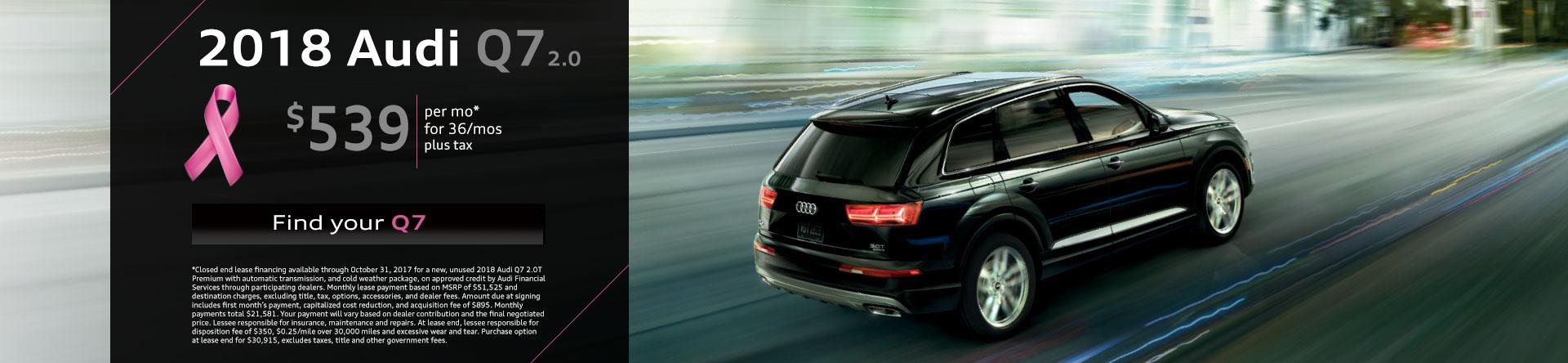Audi Q Lease Special Audi Brooklyn Brooklyn NY - Audi q7 lease