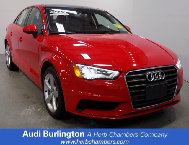 Used 2016 Audi A3 2.0T Premium Sedan Burlington MA
