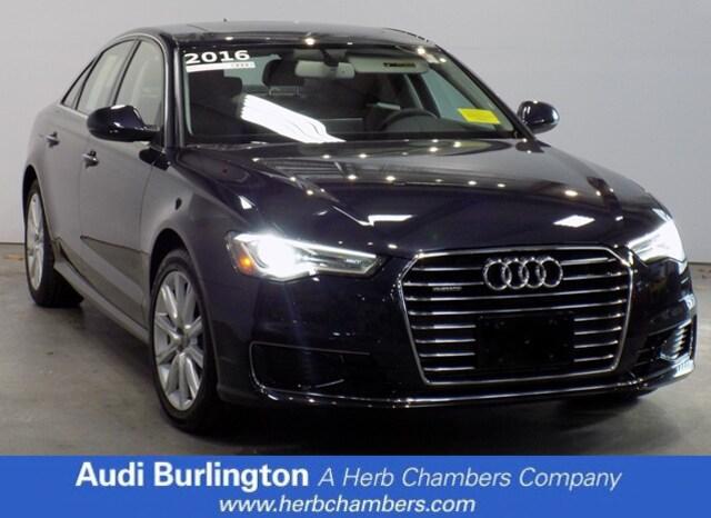 Used 2016 Audi A6 2.0T Premium Plus Sedan Burlington MA