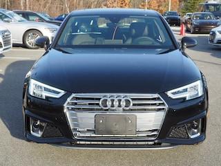 New 2019 Audi A4 2.0T Premium Plus Sedan Burlington MA