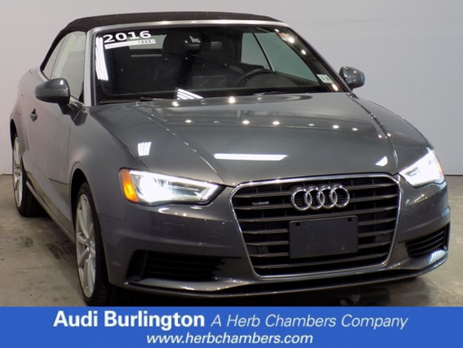 Used 2016 Audi A3 2.0T Premium Cabriolet for sale in Somerville near Boston MA