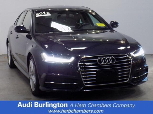 Used 2016 Audi A6 3.0T Premium Plus Sedan Burlington MA