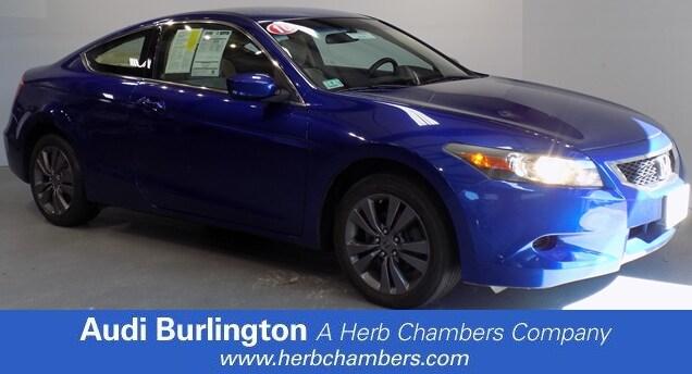 Used 2010 Honda Accord LX S Coupe Burlington MA